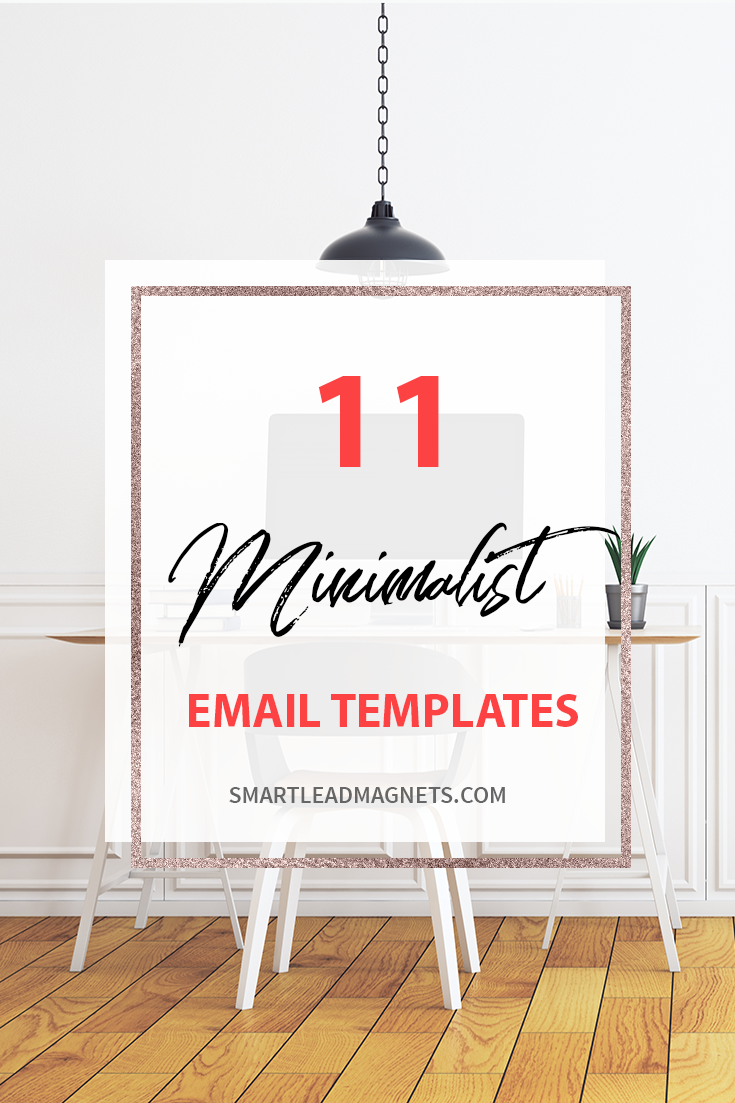 Minimalist | Responsive Email Templates | Minimalist Email Template | Email Marketing Template | MailChimp Email Templates | Newsletter